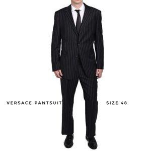 Men's VERSACE Classic Pinstripes Pantsuit Size 48